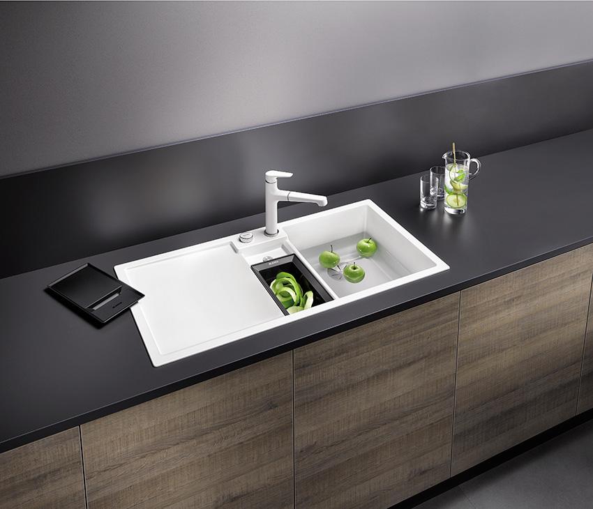 blanco entend optimiser l organisation en cuisine cuisines et bains. Black Bedroom Furniture Sets. Home Design Ideas
