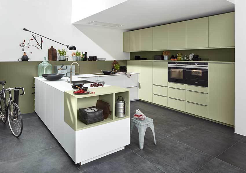 Quelle couleur pour la laque mate en cuisine ? - Cuisines et bains