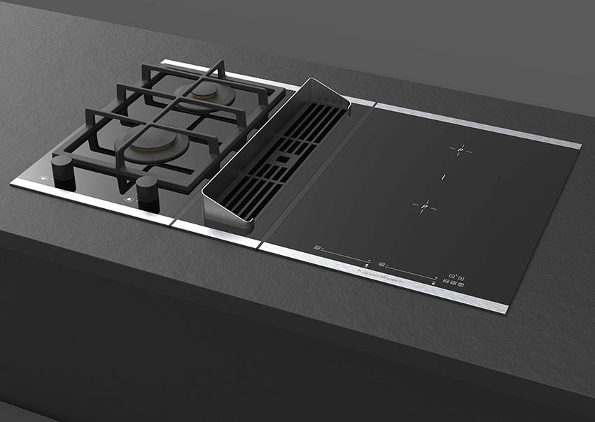 Küppersbusch associe ventilation et table de cuisson