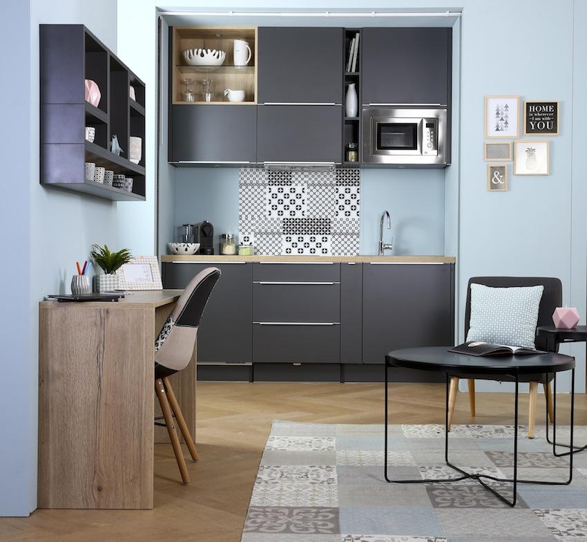 Compact 39 trendy de socoo 39 c concentr d 39 astuces cuisines et bains - Cuisine lineaire 4 metres ...