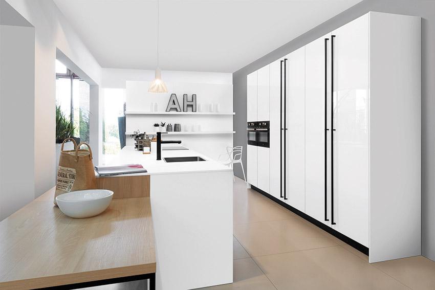 Rotpunkt revisite la cuisine blanche... façon design ! - Cuisines et ...