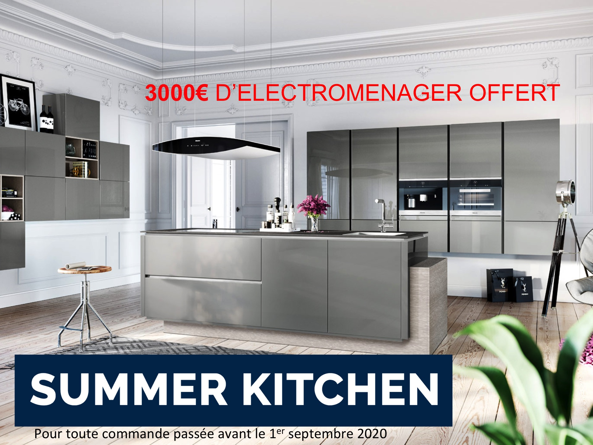 promotion d ete summer kitchen les