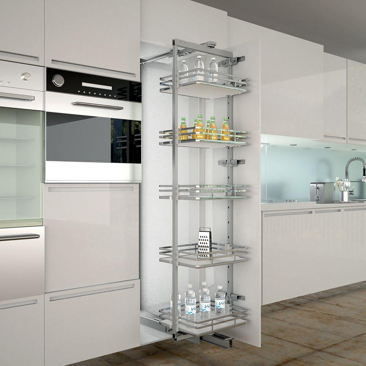 armoire de cuisine coulissante