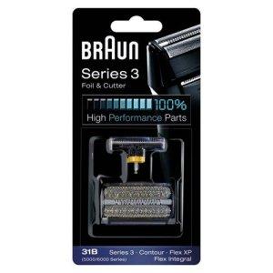Braun-Combi-Pack-31B-Recharge-Grille-Couteaux-pour-Rasoirs-Anciens-Sries-3-Contour-Flex-XPII-Flex-XP-Flex-Intgral-Noir-0