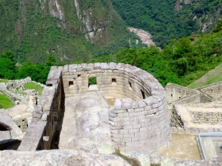 Machu Picchu–Temple of the Sun