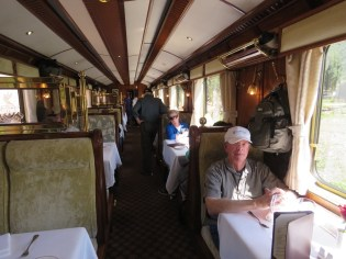 The Hiram Bingham train–Dining Car