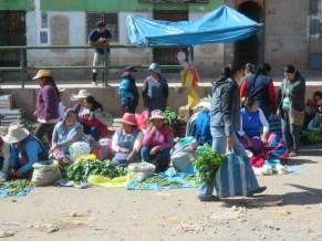 Cusco street market