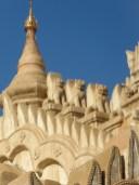 Ananda Temple, Bagan–roofline