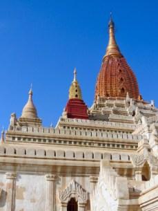 Bagan, Myanmar–Ananda Temple spires