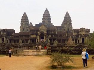 Angkor Wat–façade