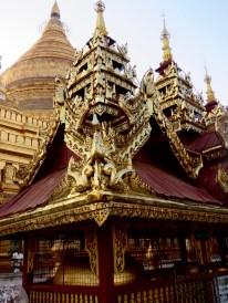 Bagan, Myanmar–Shwezigon Pagoda Prayer Hall Carvings