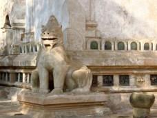 Bagan, Myanmar Ananda Temple, Guardian Lion