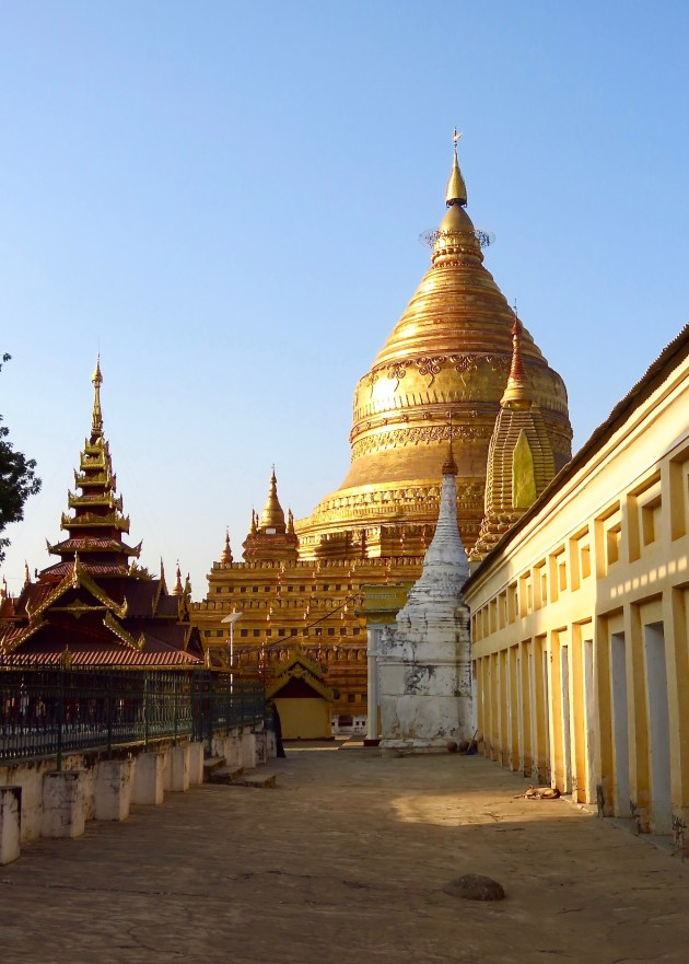 Bagan, Myanmar–Entrance To Shwezigon Pagoda