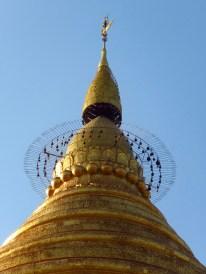 Bagan, Myanmar Top Of Shwezigon Pagoda