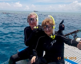 Great Barrier Reef–ready to snorkel