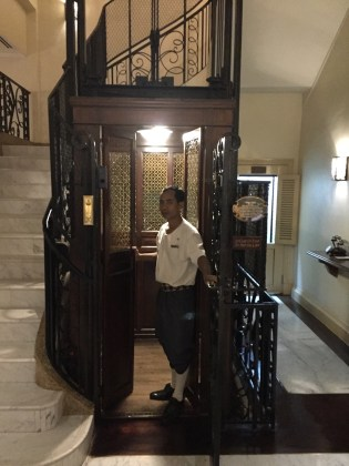Raffles Grand Hotel d'Angkor–elevator