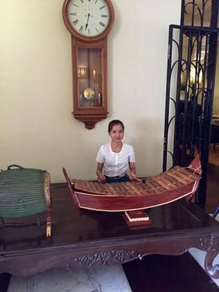 Siem Reap–Raffles hotel musician