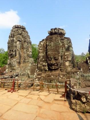 Siem Riep, Cambodia-Bayan Buddha