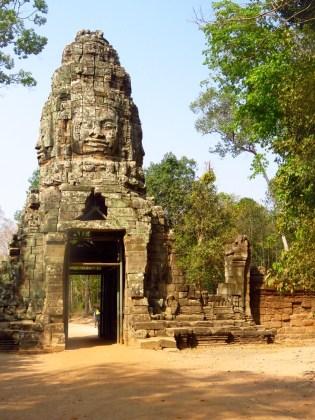 Siem Riep, Cambodia-Bayan entrance