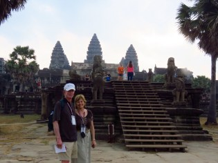 Siem Riep, Cambodia–entrance to Angkor Wat