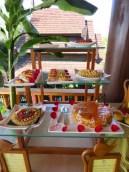 Inle Lake, Myanmar–Aureum Palace Resort– Lunch Buffet Desserts