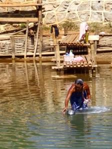 Inle Lake, Myanmar–Shower Time
