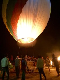 Inle Lake, Myanmar–Up Goes The Nat Geo Balloon