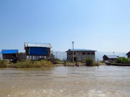 Myanmar–Inle Lake–Stilt Houses
