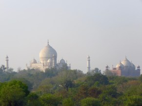 Taj Mahal–view From Our Room