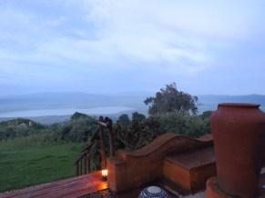 Tanzania–Ngorongoro Crater–View Form Lodge Deck