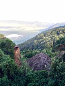 Tanzania–Ngorongoro Crater Lodge View