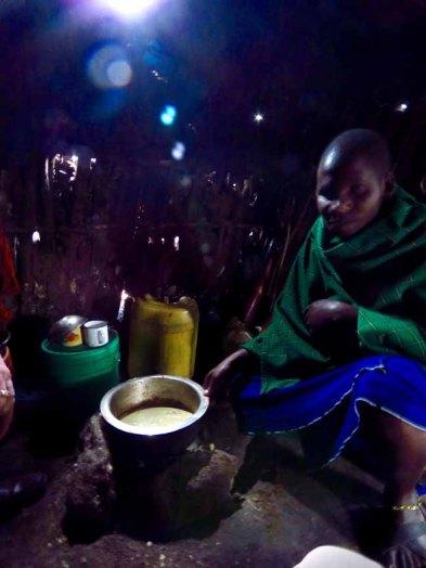 Tanzania Ngorongoro Crater Inside A Masai Hut2