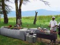 Tanzania Ngorongoro Crater Lunch BBQ