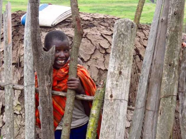 Tanzania Ngorongoro Crater Masai Boy