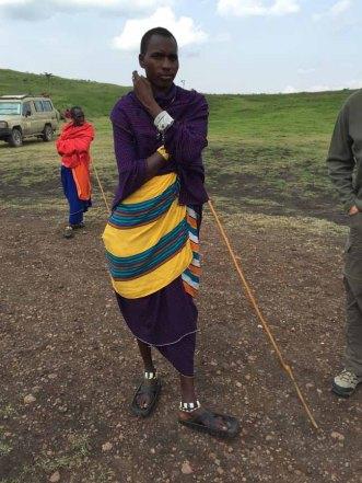 Tanzania Ngorongoro Crater Welcome To Masai Village