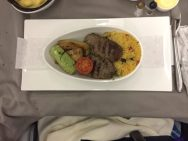 Ground Beef Kebab with couscous