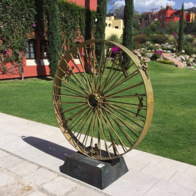 Sculpture at Rosewood Hotel, San Miguel de Allende