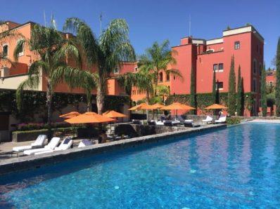Pool at Rosewood Hotel, San Miguel de Allende