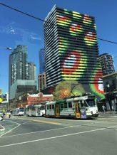 Melbourne–Colorful building