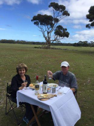 Kangaroo Island picnic lunch