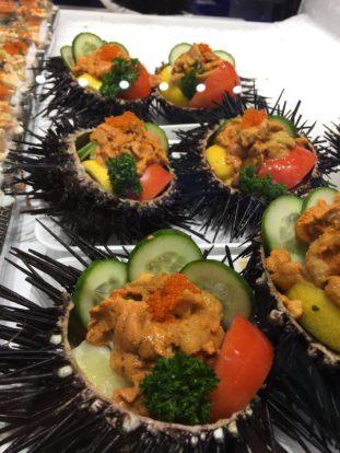 Uni (sea urchin), anyone?