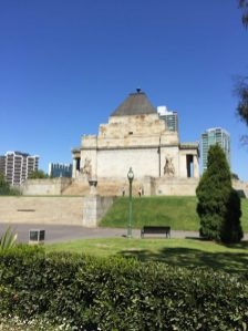Melbourne–Shrine of Remembrance