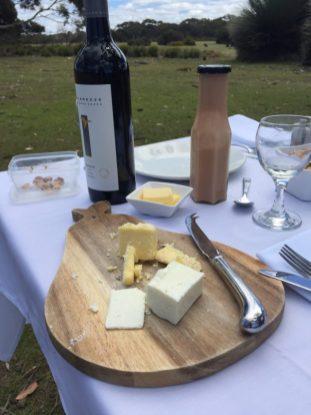 Kangaroo Island picnic–cheese course