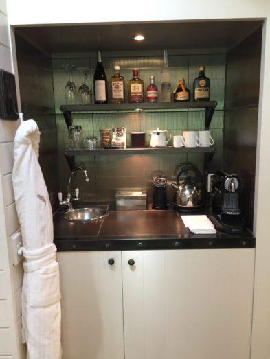 Huka Lodge–In-room Bar