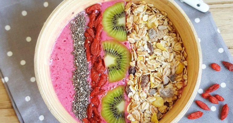 Smoothie Bowl fraise & cerise