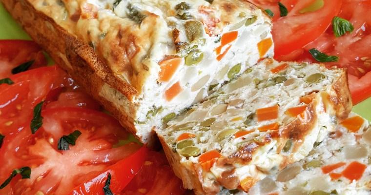 Terrine au thon & macédoine de légumes