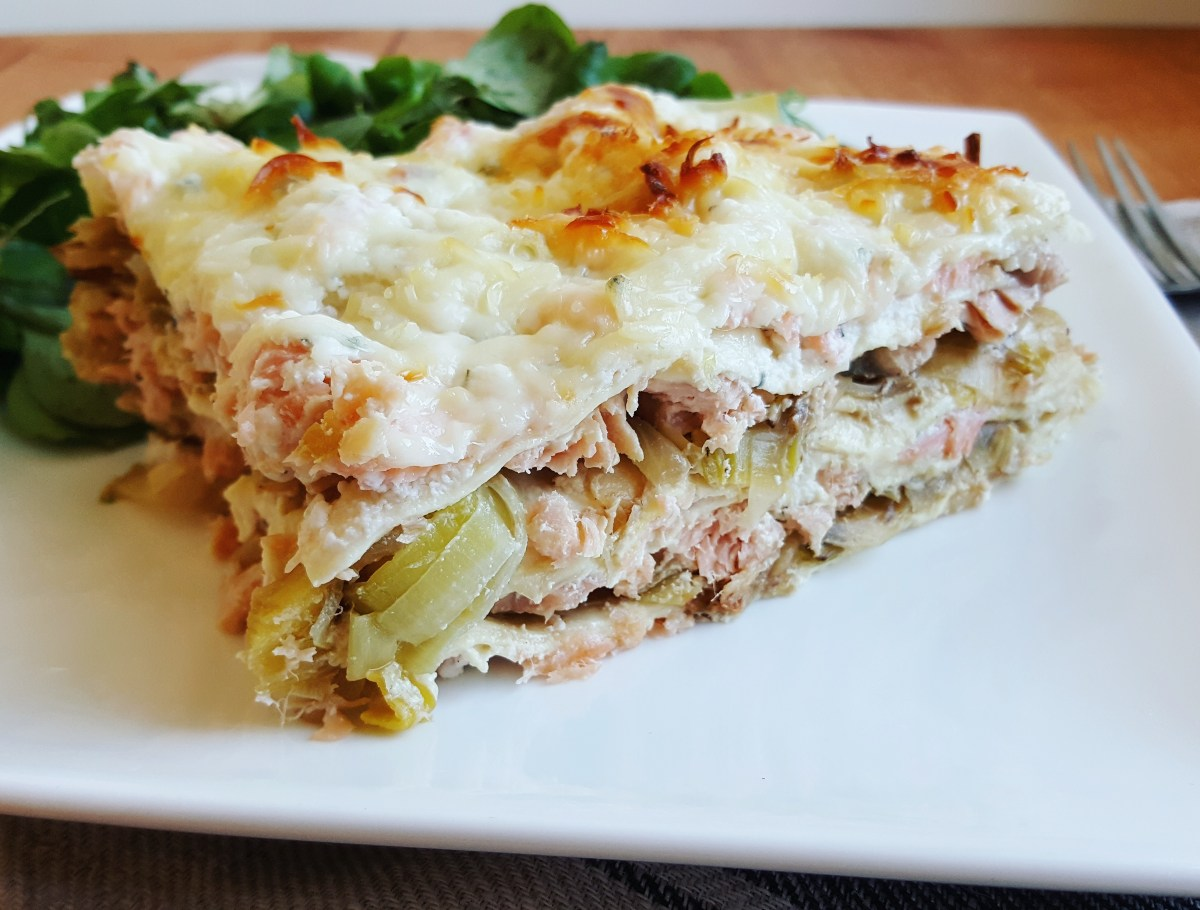 Lasagnes aux 2 saumons poireaux ricotta cuisine ta ligne for Cuisine ta ligne