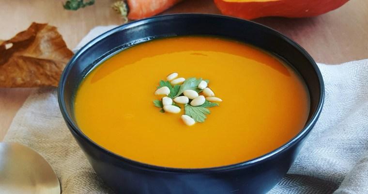 Soupe au potimarron et carotte