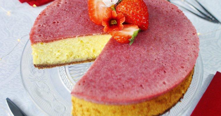 Cheesecake à la fraise et au citron