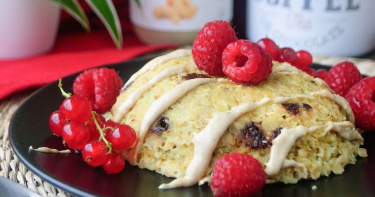 Bowlcake à la banane et aux pépites de chocolat